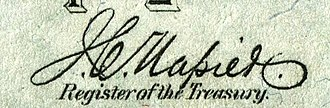 James Carroll Napier - Image: James Carroll Napier (Engraved Signature)