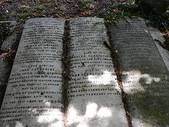 James Stephen (civil servant) - Monument, Kensal Green Cemetery