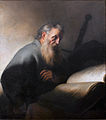 Jan Lievens, Painting of St Paul, ca. 1627-29. Oil on canvas. Nationalmuseum Sweden.jpg