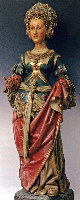 Jan van Steffeswert - Image: Jan v Steffeswert, St Cecilia, St Matthiaskerk, Maastricht