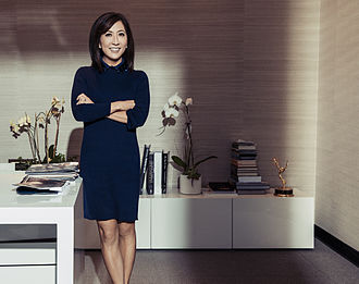 Janice Min - Janice Min in her Los Angeles office