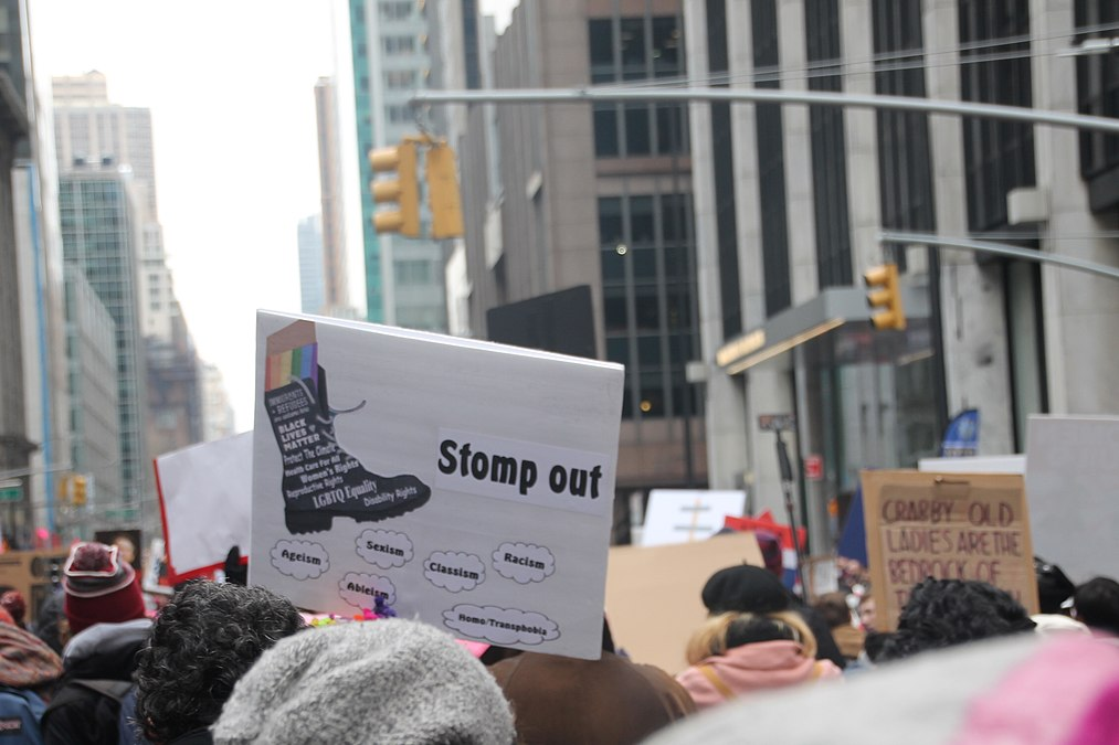 January 2019 Women's Alliance march in NYC (46806344831).jpg
