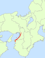 Japan National Route 26 Map.png