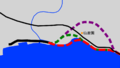Japan Route 10 Kagoshima-kita Bypass map.png