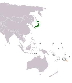 Japan–Tonga relations Diplomatic relations between Japan and the Kingdom of Tonga