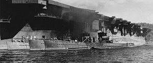 Japanese submarines Ha-105 Ha-106 and Ha-109 in 1945.jpg