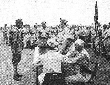 Japanese surrender to 40th