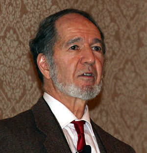 Jared Diamond at the 2007 Association of Ameri...