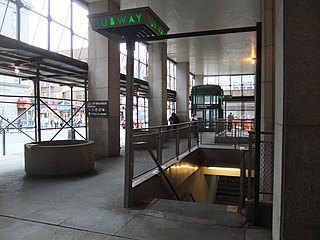 Jay Street–MetroTech station New York City Subway station complex in Brooklyn