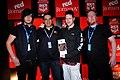Jayce Lewis and band at Rock'n India 2010.jpg
