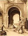 Jean Joseph Benjamin-Constant - Scene in a moorish courtyard.jpg