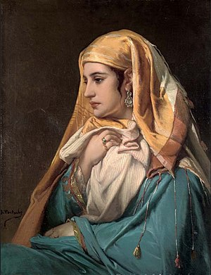 Jean-François Portaels - Oriental woman
