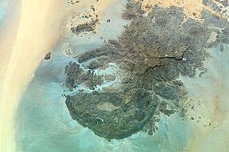 Gabal El Uweinat - Mount Uwaynat on the border of Egypt, Libya and Sudan