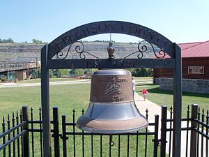 Ohio Bicentennial - The Jefferson County bicentennial bell