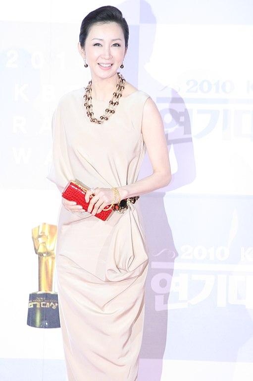 filejeon inhwa at the 2010 kbs drama acting awards 700