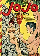 Bikini in comic books: Form Jo-Jo, Congo King published by Fox Feature Syndicate