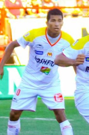 Joao Rojas - Rojas playing for Morelia in 2011