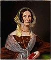 Johan Erik Lindh - Portrait of the Authoress Sara Wacklin - A I 512 - Finnish National Gallery.jpg