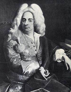 Johann Bernhard Fischer von Erlach - Portrait by Ádám Mányoki, c. 1723