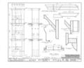 John Beekman House, 29-29 1-2 Cherry Street, New York, New York County, NY HABS NY,31-NEYO,42- (sheet 7 of 8).png