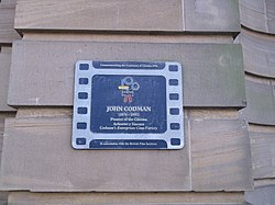 Photo of John Codman film cell plaque