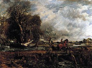 1825 in art - Image: John Constable The Leaping Horse WGA05195
