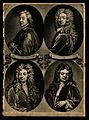John Dryden, Samuel Garth, John Vanbrugh, and Richard Steele Wellcome V0006784.jpg