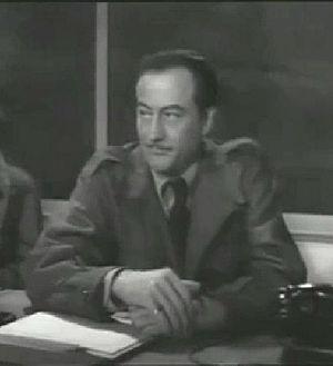 John Emery (actor) - John Emery in Rocketship X-M (1950)