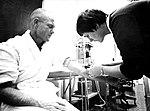 John Glenn With Nurse Delores O'Hara.jpg