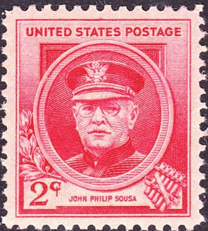 John Philip Sousa - US Postage, Issue of 1940