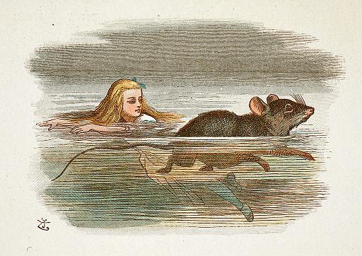 John Tenniel - Illustration from The Nursery Alice (1890) - A80108 44