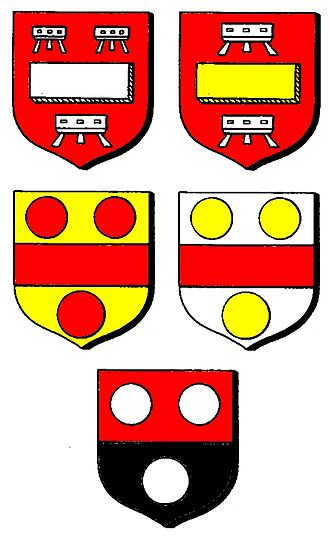 John de Stratford - Image: John de Stratford Coats of Arms