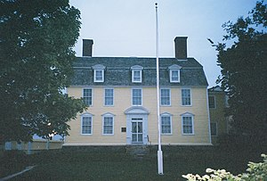National Register of Historic Places listings in New Hampshire - John Paul Jones House