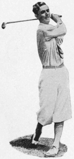 Johnny Farrell professional golfer