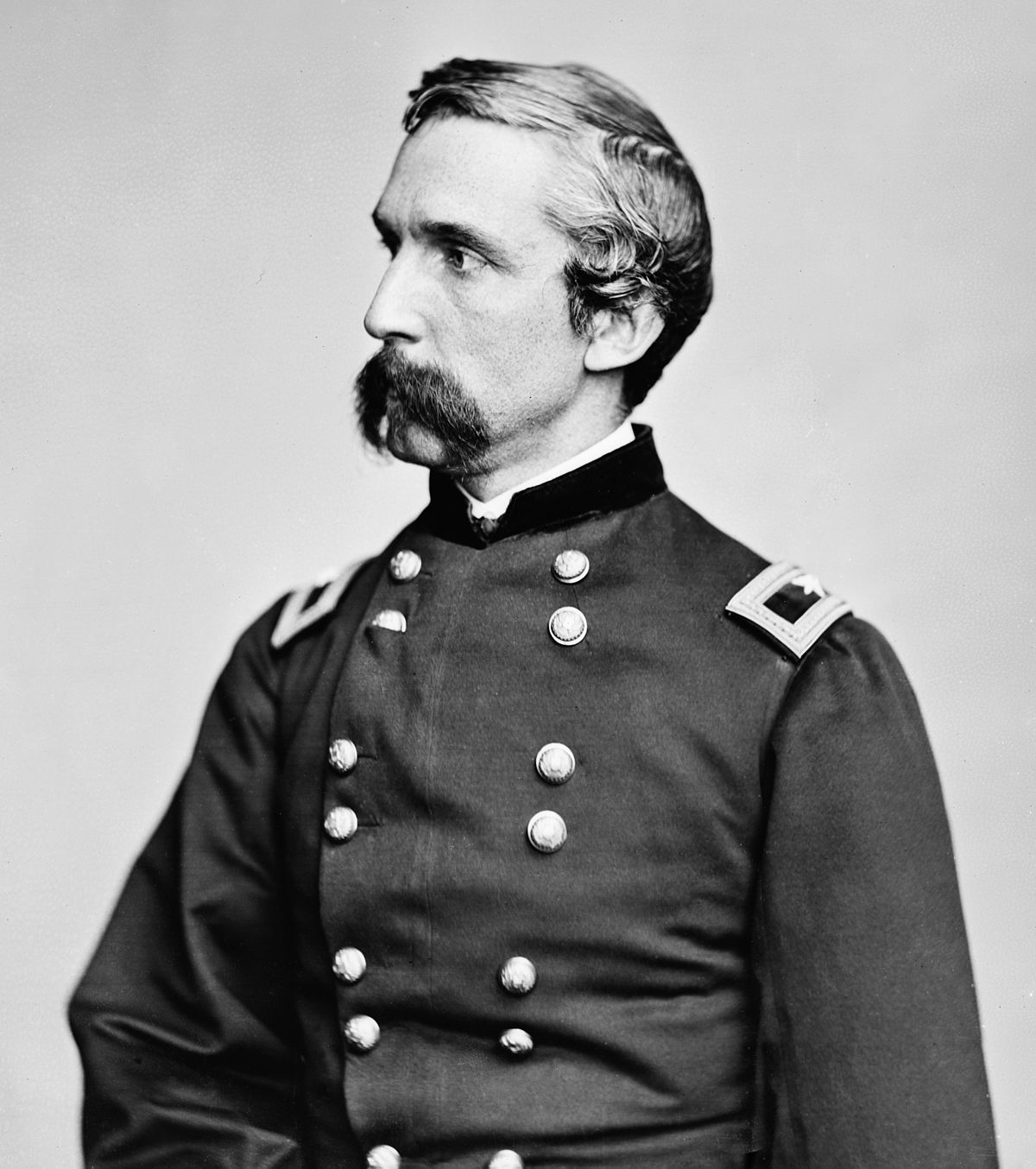 Joshua Chamberlain Wikipedia - If celebrities were 19th century military generals they would look like this
