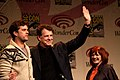 Joshua Jackson, John Noble & Blair Brown (6855949284).jpg