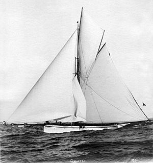 Galatea (yacht) - British yacht Galatea.