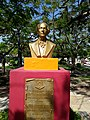 Juan Bautista Alberdi - busto en la Provincia de Formosa - Capital.jpg