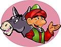 Juha with his donkey (3232626526).jpg