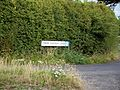 Junction of Lower Santon Lane and Santon Lane at Preston Kent England.jpg