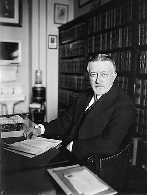Edward Terry Sanford - Justice Sanford in his office
