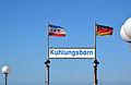 Kühlungsborn, Seebrücke, Namensschild (1).JPG
