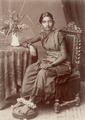 KITLV - 103781 - Indian woman in Singapore - circa 1890.tif