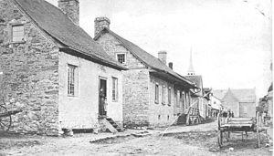 Kahnawake - Image: Kahnawake ca 1860