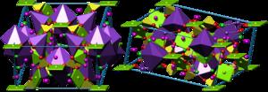 Kainite - Crystal structure of kainite