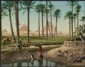 Kairo, les pyramides, femmes Arabes LCCN2017658151.tif