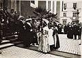 Kaiser Karl I. und Kaiserin Zita in Feldkirch am 5. Juni 1917. Karl bereiste vom 1. Juni 1917 bis zum 6. Juni 1917 die Isonzofront, Istrien, Kärnten und Vorarlberg (BildID 15565394).jpg