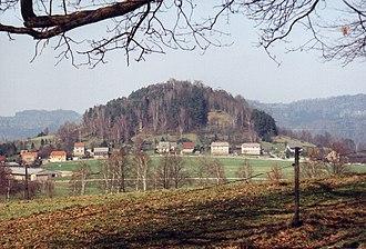Kaiserkrone (hill) - Image: Kaiserkrone saechs schweiz