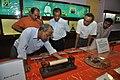 Kalyan Kumar Mukherjee And NCSM Personnel Examine Soshunograph - Jagadish Chandra Bose Museum - Bose Institute - Kolkata 2011-07-26 4062.JPG