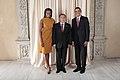 Kanat Saudabayev with Obamas.jpg